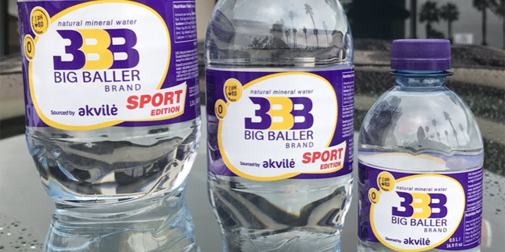 Lincoln Motor Company >> Big Baller Brand Mineral Water Debuts In California (PICS) | Total Pro Sports