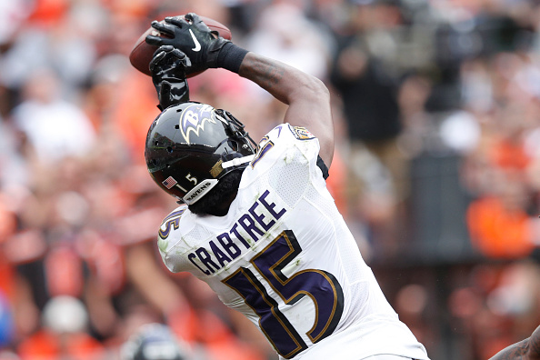 Ravens Releasing Wide Receiver Michael Crabtree