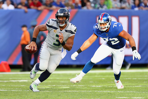 The Giants Are Rumored to Be Interested in Russell Wilson