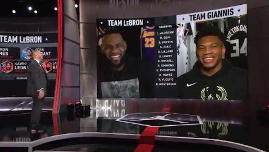 LeBron James and Giannis Antetokounmpo Joke About ...