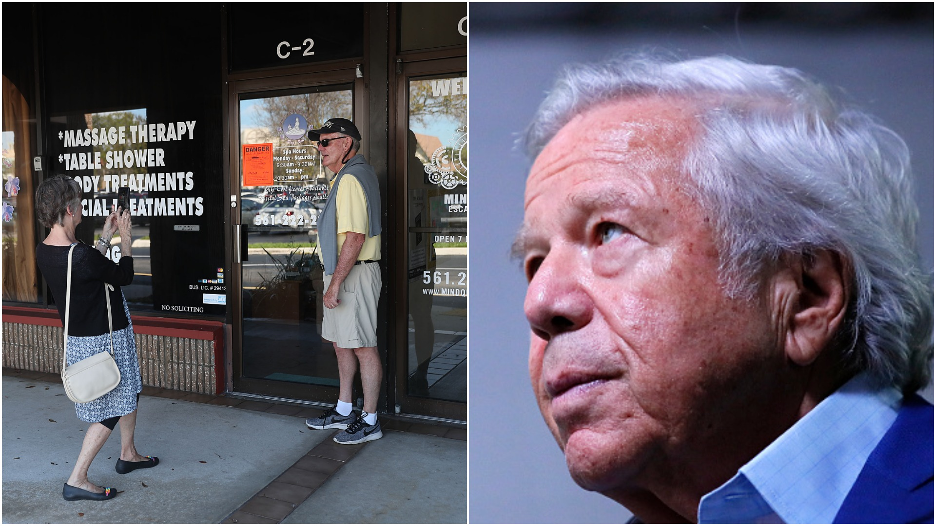 Fans Flock To Asian Spa To Take Selfies Where Robert Kraft Got Popped In Prostitution -8409
