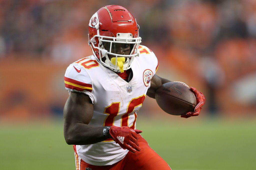 Investigation involving Chiefs WR Hill underway
