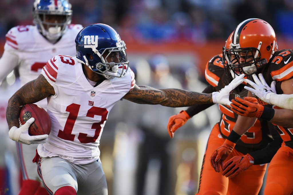 NFL Insider Sheds Light On Giants' Asking Price For Odell Beckham Jr