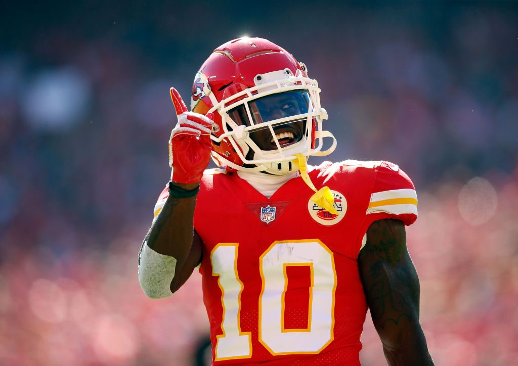 Tyreek Hill Denies Assaulting Fiancee in Full Audio Recording Released on Radio