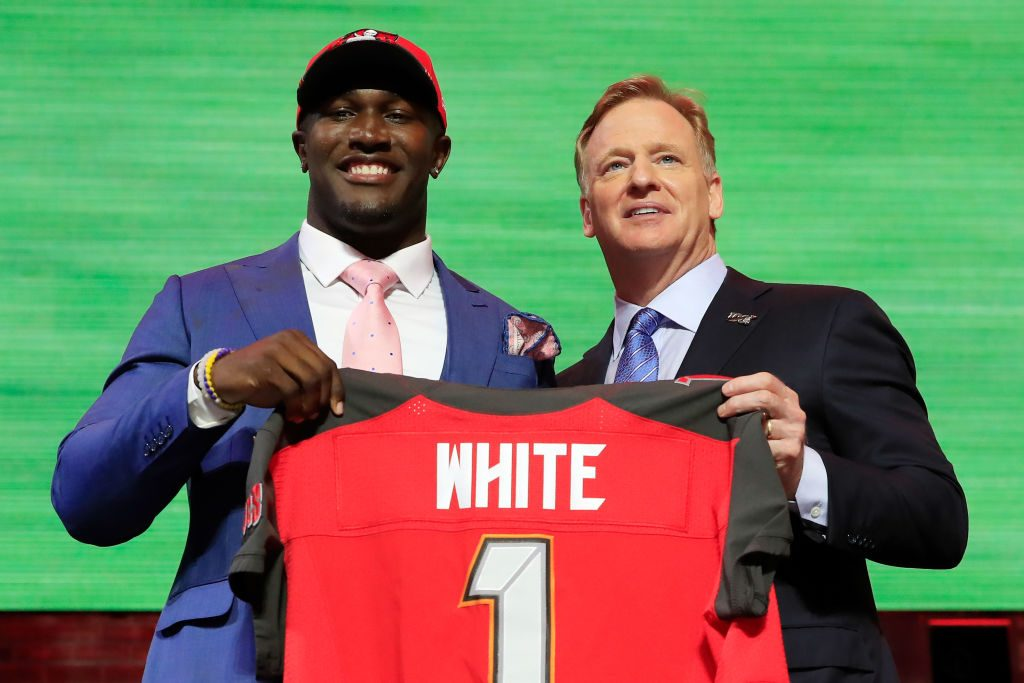 71c46cd8c5c66 Devin White's Sister Didn't Seem Too Thrilled He Got Selected By The Tampa  Bay Bucs (VIDEO)