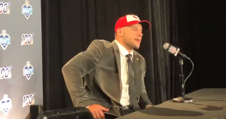 President Donald Trump Congratulates Nick Bosa On Being Drafted