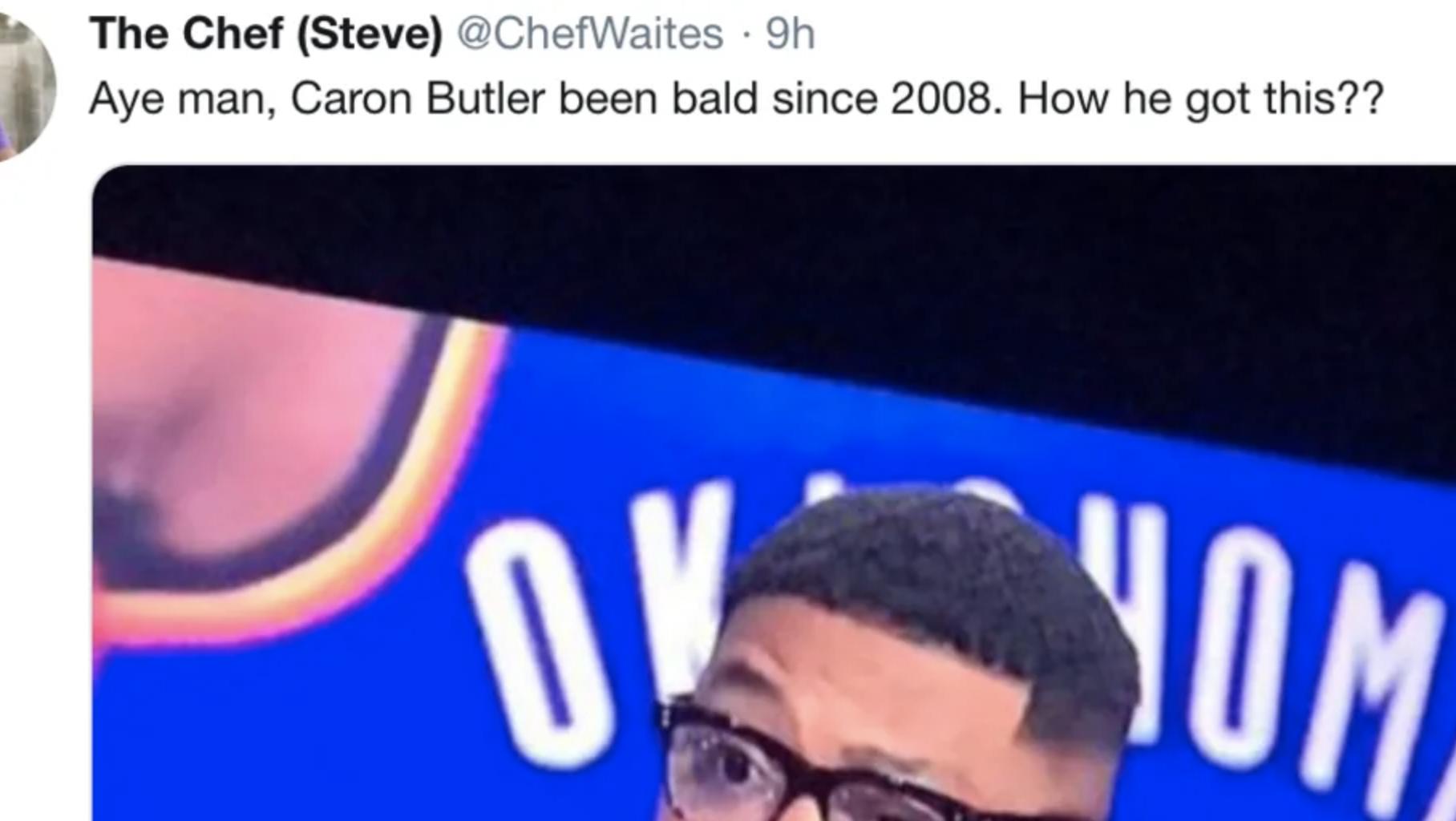 caron butler new hair