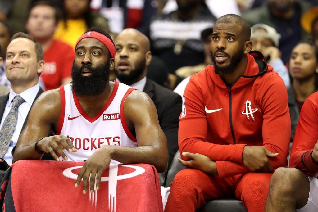 James Harden, Chris Paul Had Verbal Altercation After Rockets' Season-Ending Loss