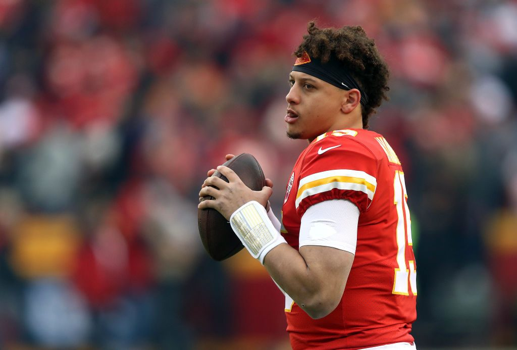 Here S Visual Proof That Patrick Mahomes Is A Cheat Code In