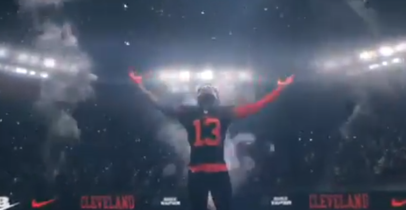 sale retailer 751e7 75994 Odell Beckham Jr. Sheds Giants Jersey In New Nike Ad That ...