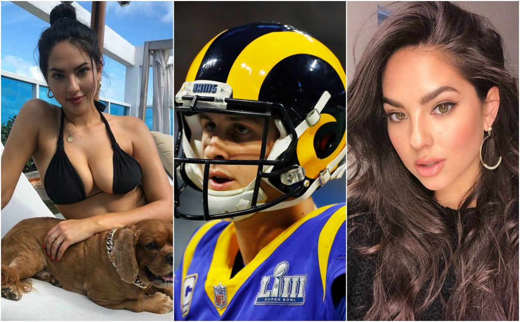 Jared Goff S Smoking Hot Gf Christen Harper Posts Spicy Instagram Video And He S Loving It Video Total Pro Sports