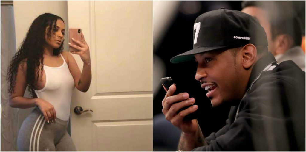 Carmelo's Baby Mama Calls Him Out For Cheating On A Yacht ...