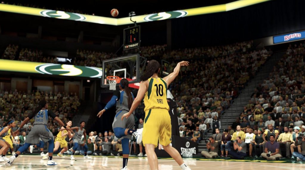 WNBA players to appear in NBA 2K20 video game