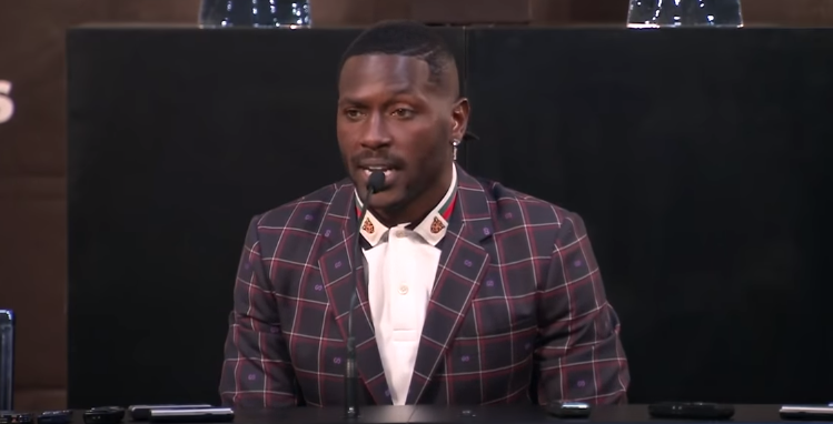 Antonio Brown Threatening To Quit Football Over Helmet Issues