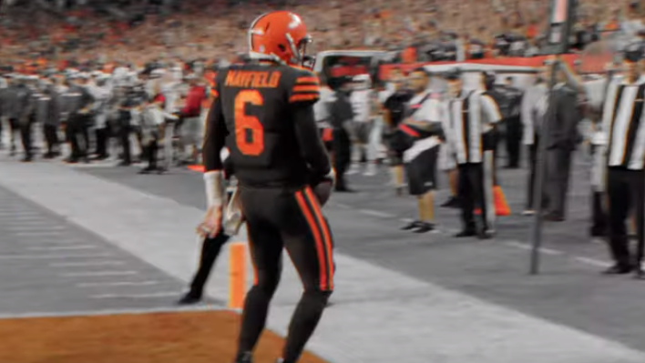 online store 0b343 30a70 VIDEO: Cleveland Browns Make Color Rush Jerseys Their ...