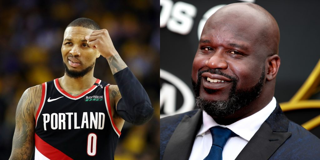 Shaq Drops Damian Lillard Diss Track After Guard's Podcast Comments