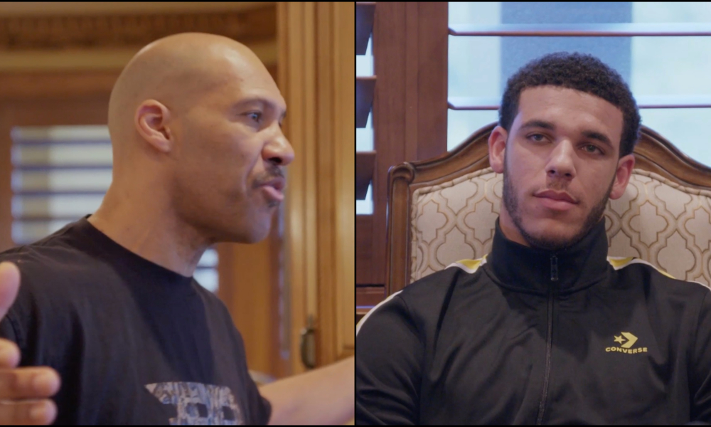 LaVar Ball Angrily Refers To Lonzo As