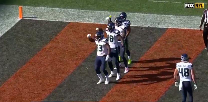 Seahawks Celebrate Td With Choreographed Nsync Bye Bye Bye
