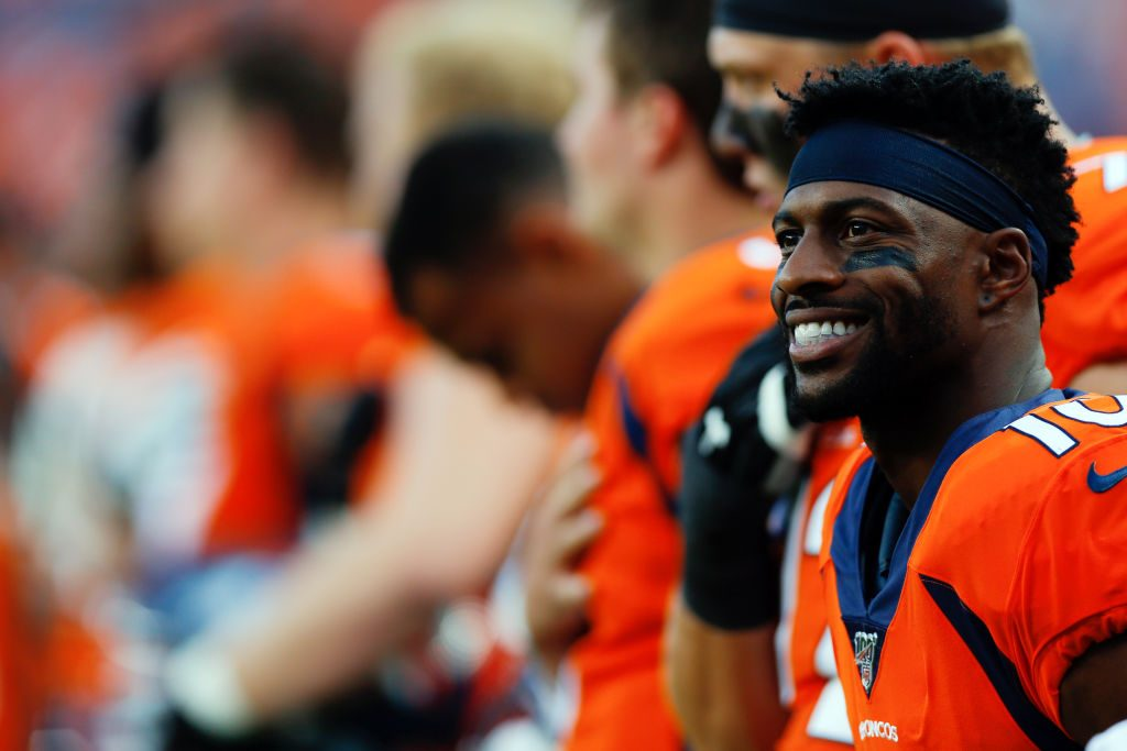 Broncos trade receiver Emmanuel Sanders to 49ers for draft picks