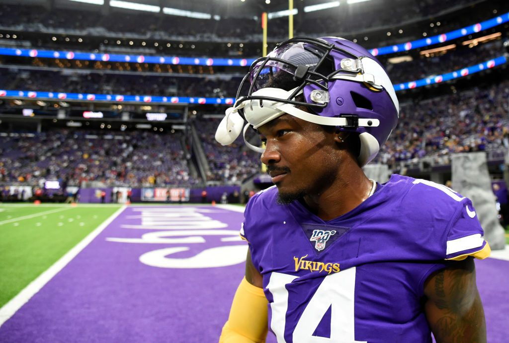 Stefon Diggs is cryptic about his rumored dissatisfaction with the Vikings