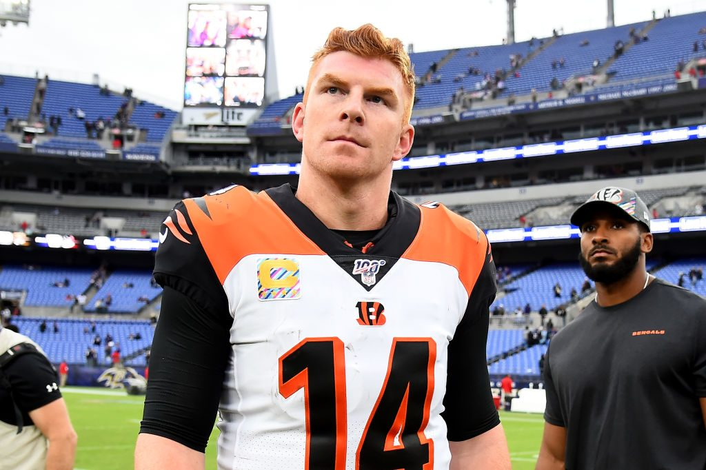 Winless Bengals benching Andy Dalton for rookie Ryan Finley following their bye