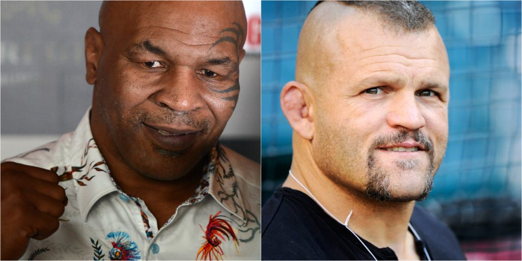 Chuck Liddell Claims He'd Beat Mike Tyson In A Street Fight (VIDEO) - Total Pro Sports