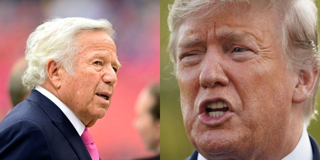 Audio leaks of Robert Kraft calling President Donald Trump 'divisive and horrible'