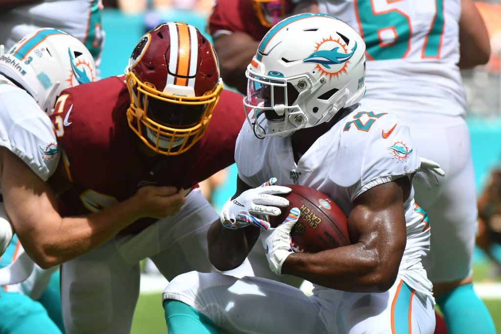 Dolphins' Mark Walton Accused Of Assaulting Pregnant Woman