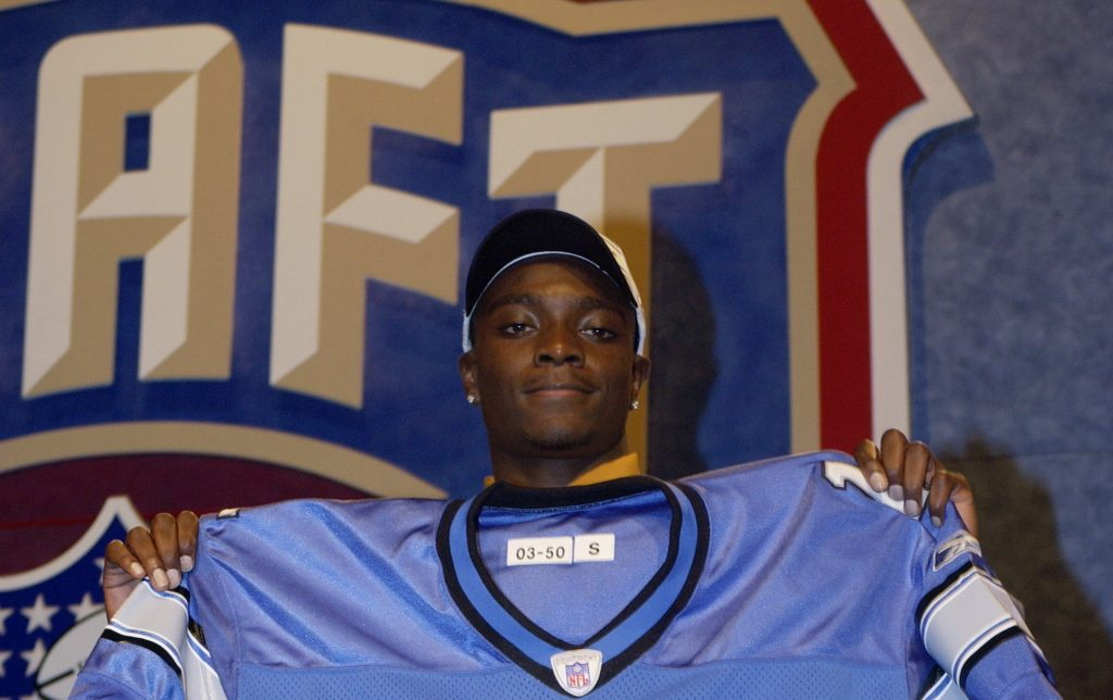 Charles Rogers, second overall pick in 2003 National Football League draft, dies aged 38