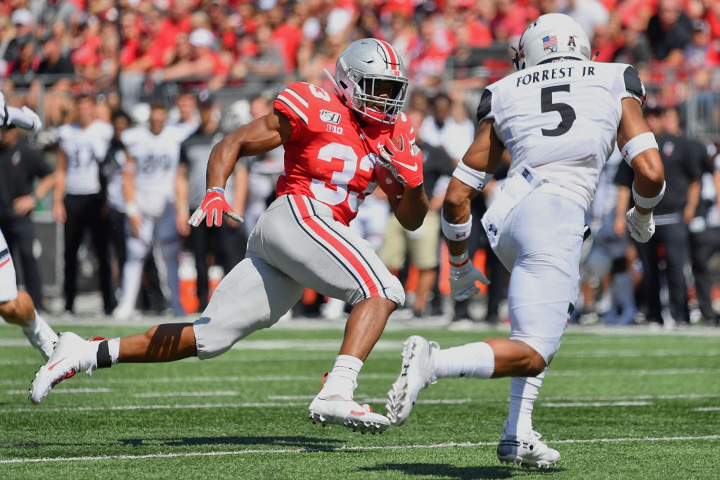 Social Media Seems To Think Ohio State Player Was Wearing Ankle