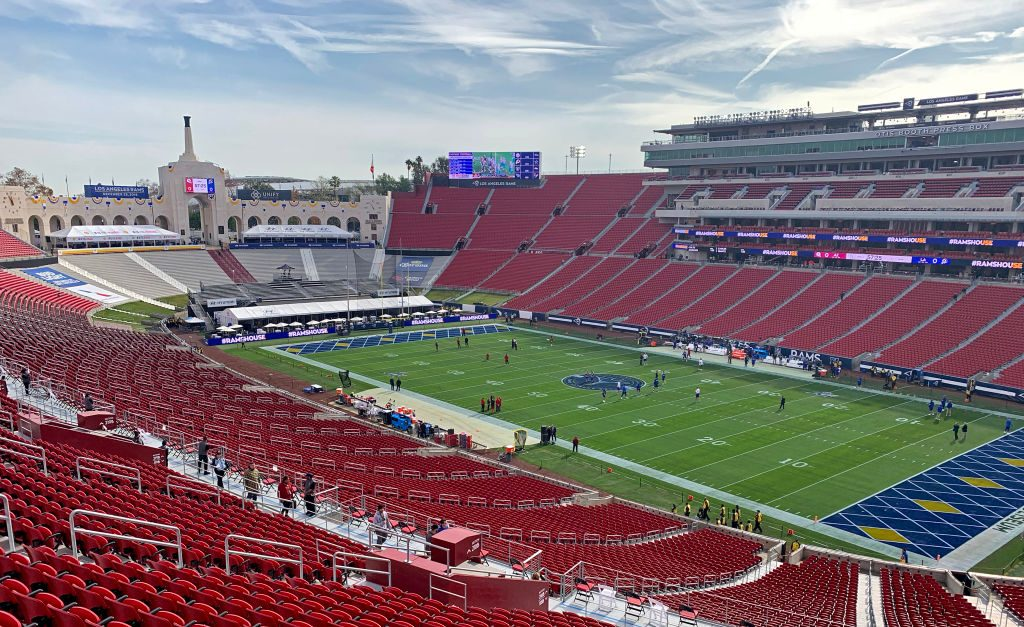 Los Angeles Rams' new logo seems to have been revealed