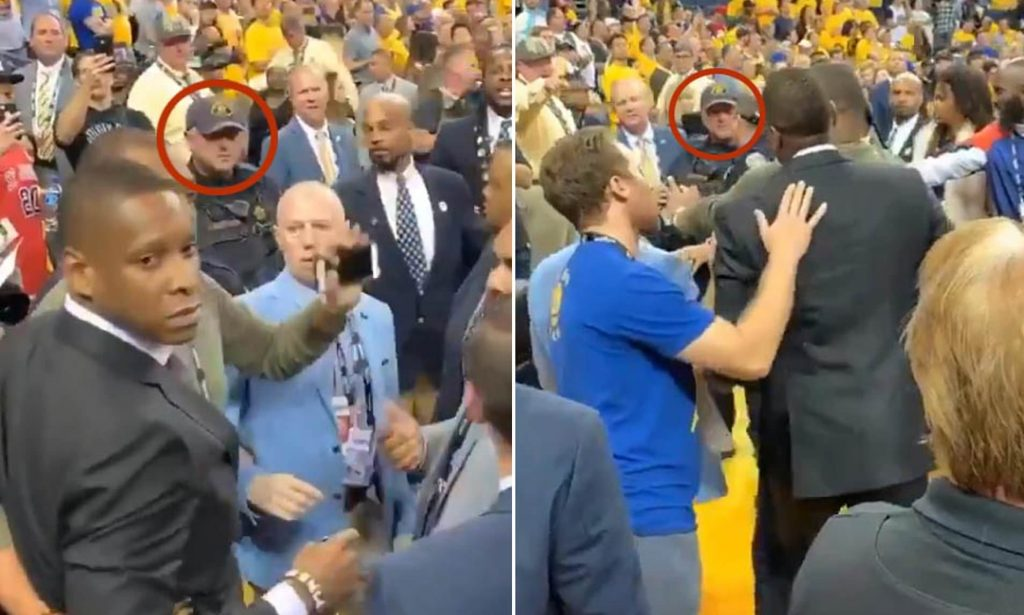 Oakland officer sues Ujiri for damages from shoving match at NBA Finals