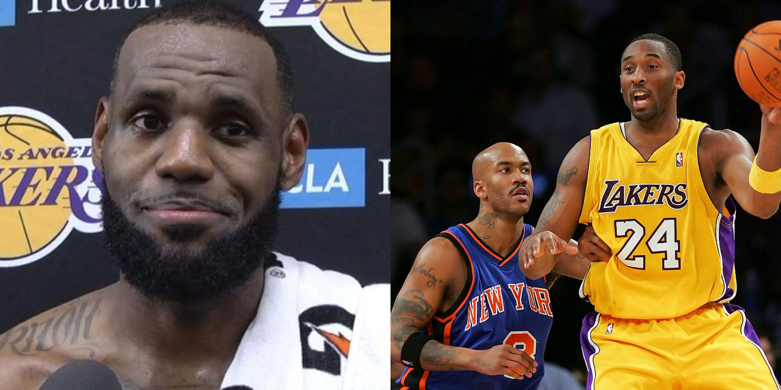 Stephon Marbury Says LeBron 'Not A Real