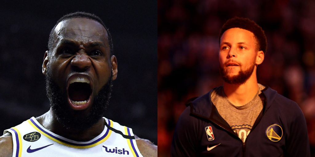 LeBron, Curry say National Basketball Association  needs to cancel 'rough' 2020