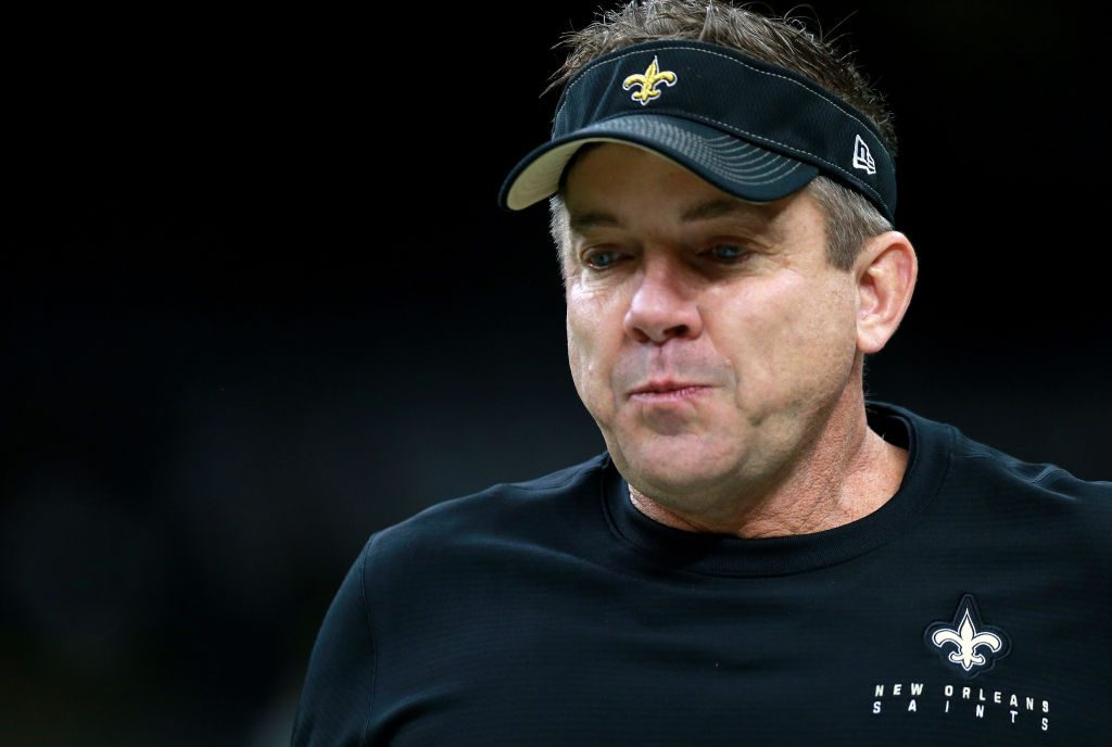 Sean Payton's coronavirus scare is over. It started with 'racetrack' Twitter abuse