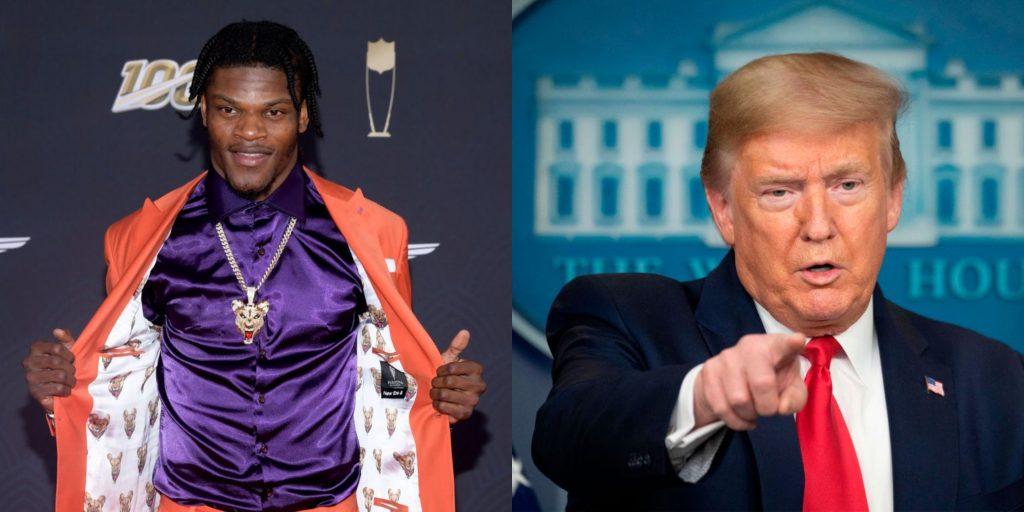 Lamar Jackson gets Twitter shoutout from Trump