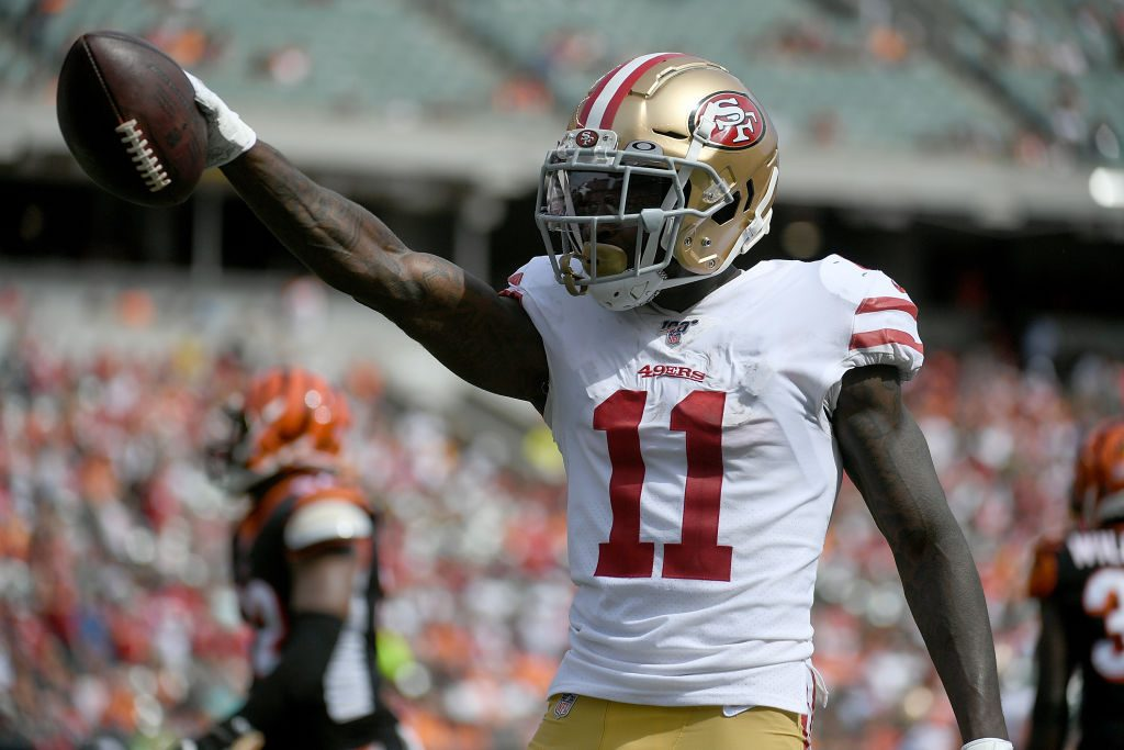 Eagles acquire receiver Marquise Goodwin from 49ers