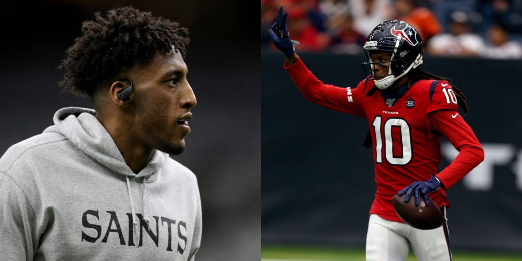 DeAndre Hopkins says he's better than Julio Jones