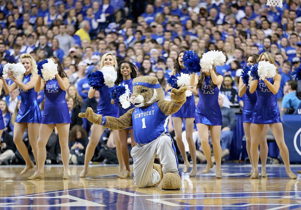 University Of Kentucky Cheerleaders