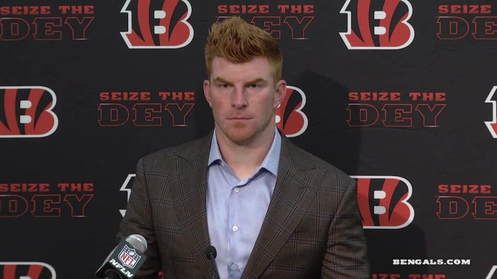Andy Dalton explains decision to sign with Cowboys