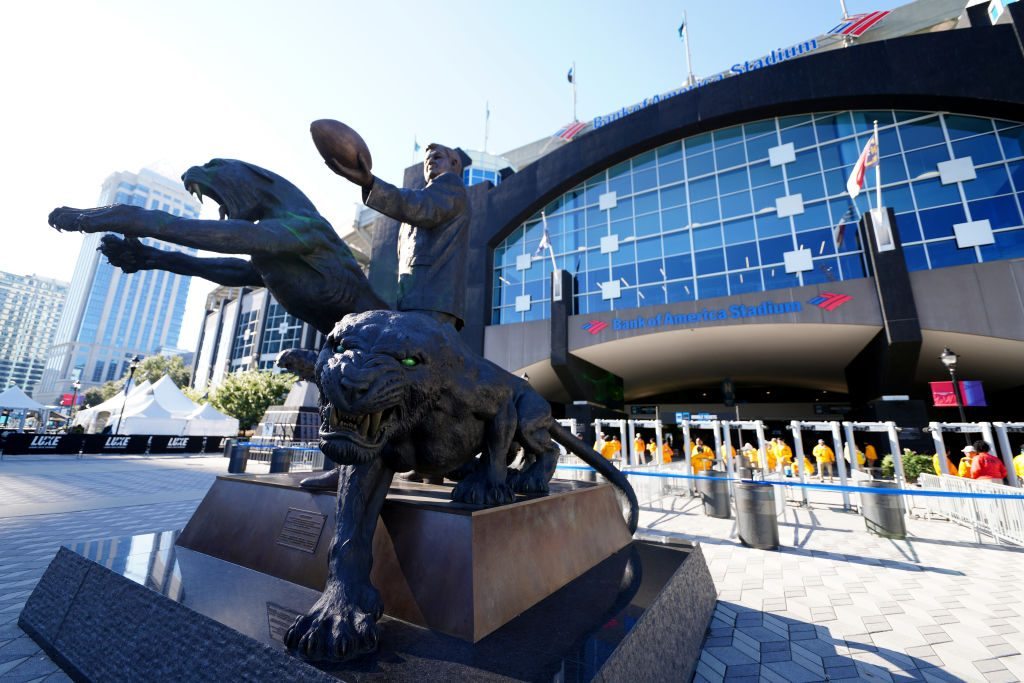 Panthers to remove Jerry Richardson statue outside Bank of America Stadium