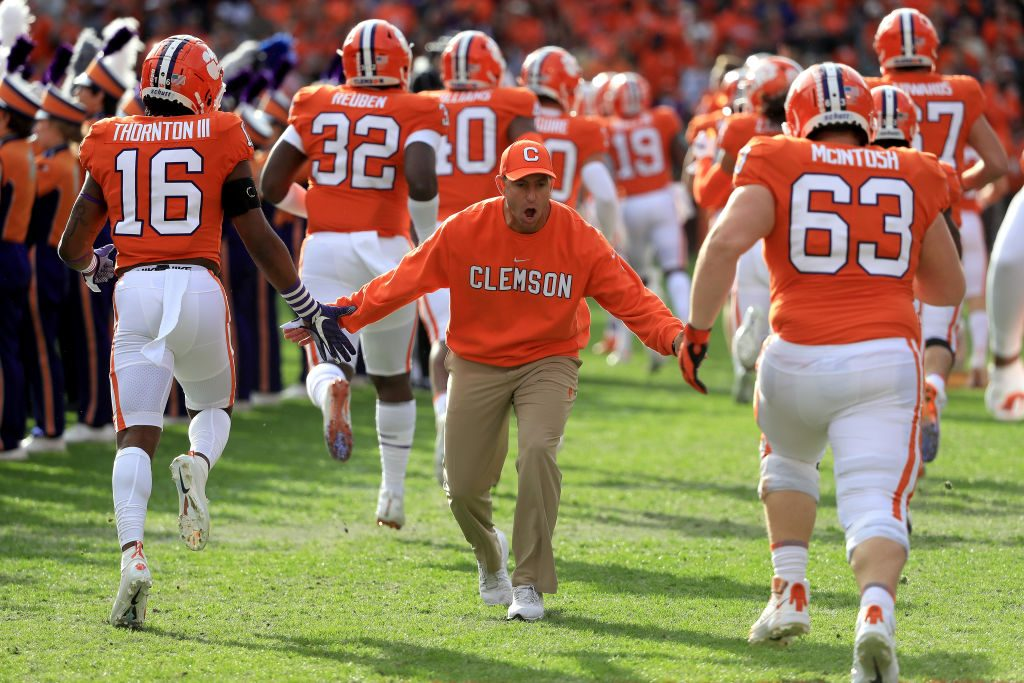 Clemson football players test positive for COVID-19