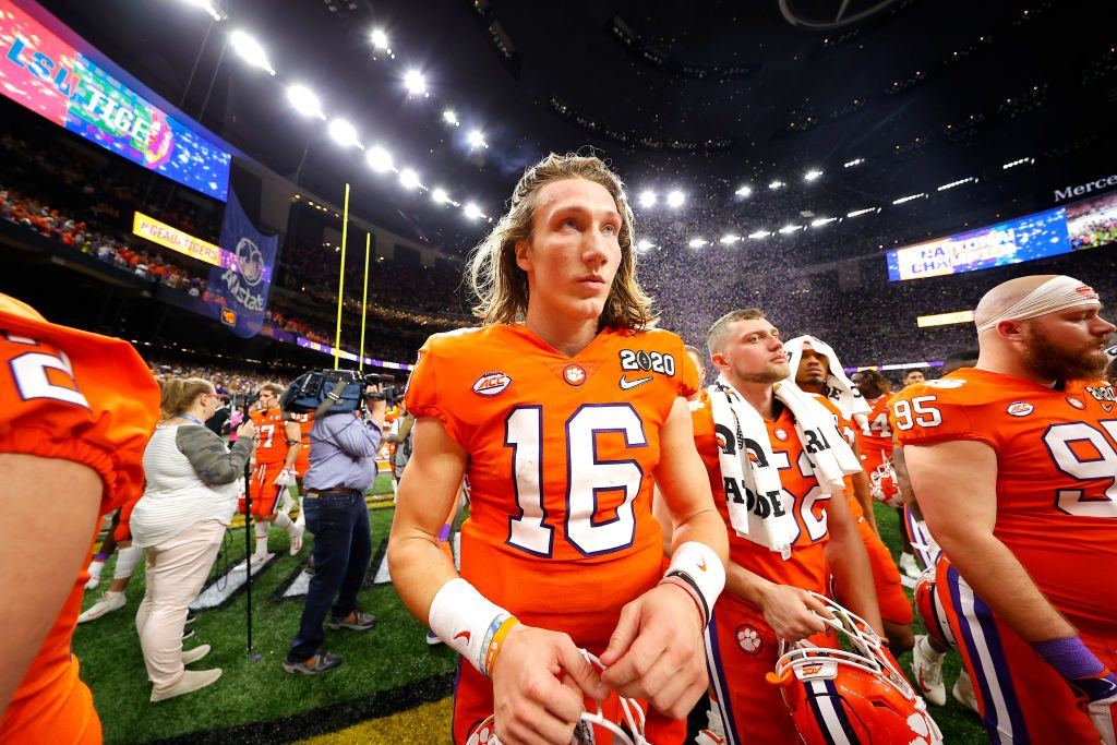 Clemson's Trevor Lawrence leads star student-athletes in unified message