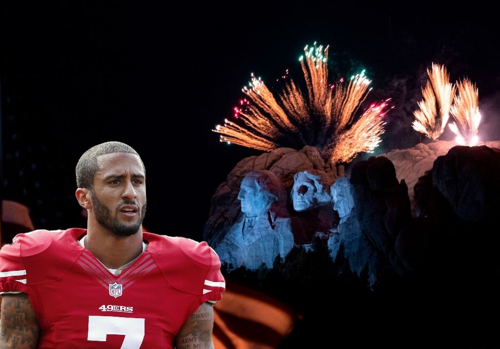 Kaepernick on July Fourth: 'We reject your celebration of white supremacy'