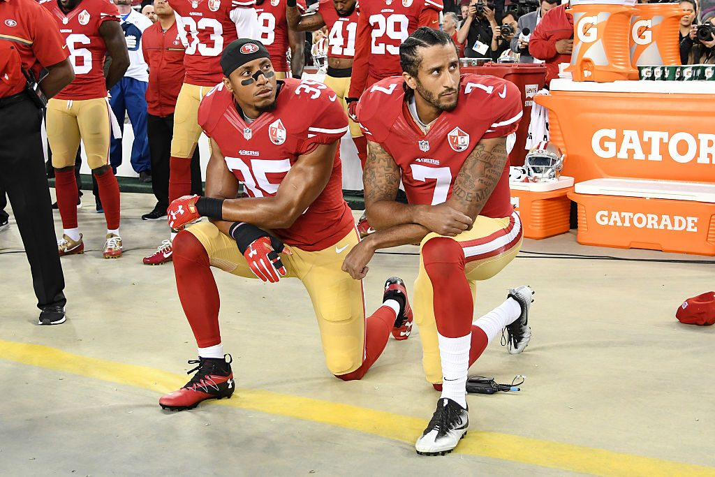 Colin Kaepernick blasts NFL's social justice initiatives, handling of Eric Reid