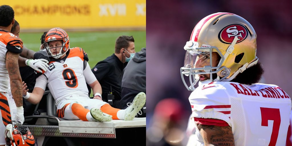 Colin Kaepernick: Free agent reiterates availability to quarterback-needy National Football League  teams