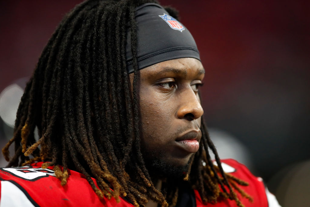 Falcons DE Takk McKinley has feelings about not being traded