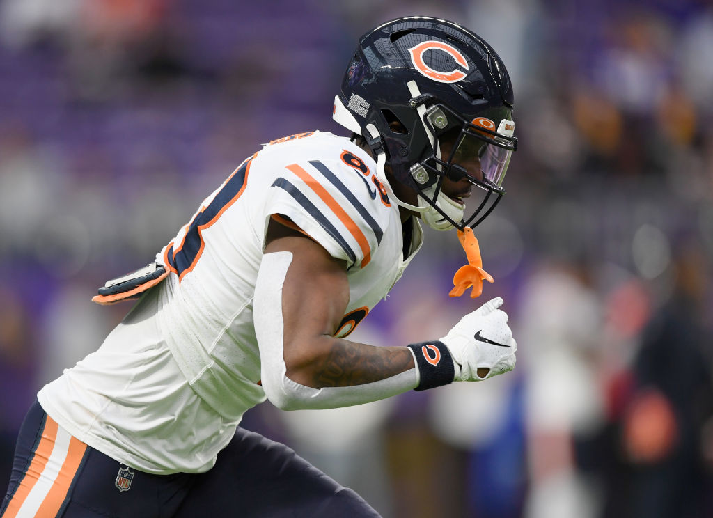 Bears WR Javon Wims Suspended Multiple Games For Punching Chauncey Gardner-Johnson