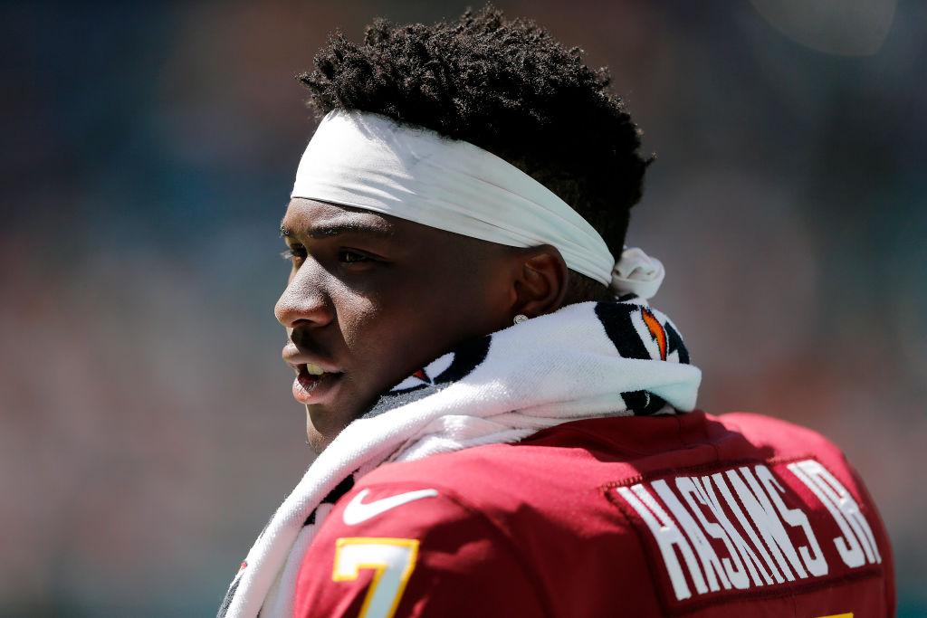 Panthers have interest in ex-Washington QB Dwayne Haskins