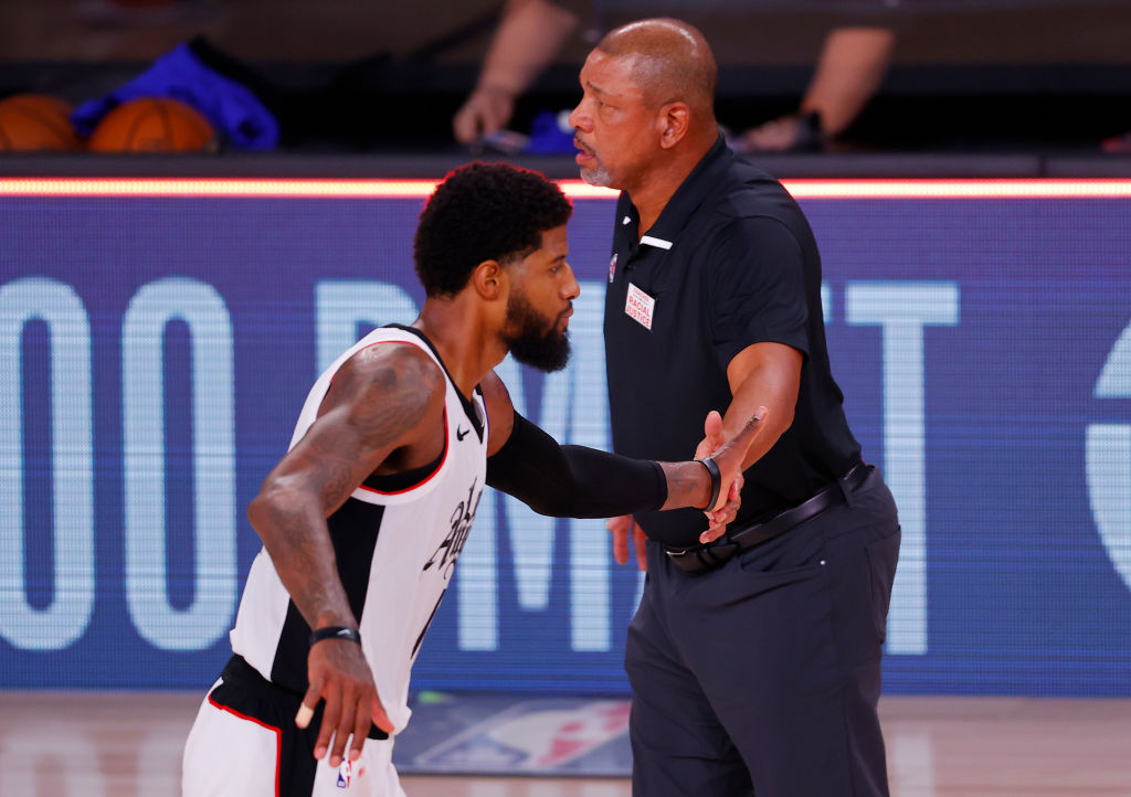 Sixers coach Doc Rivers responds to Clippers forward Paul George's criticism